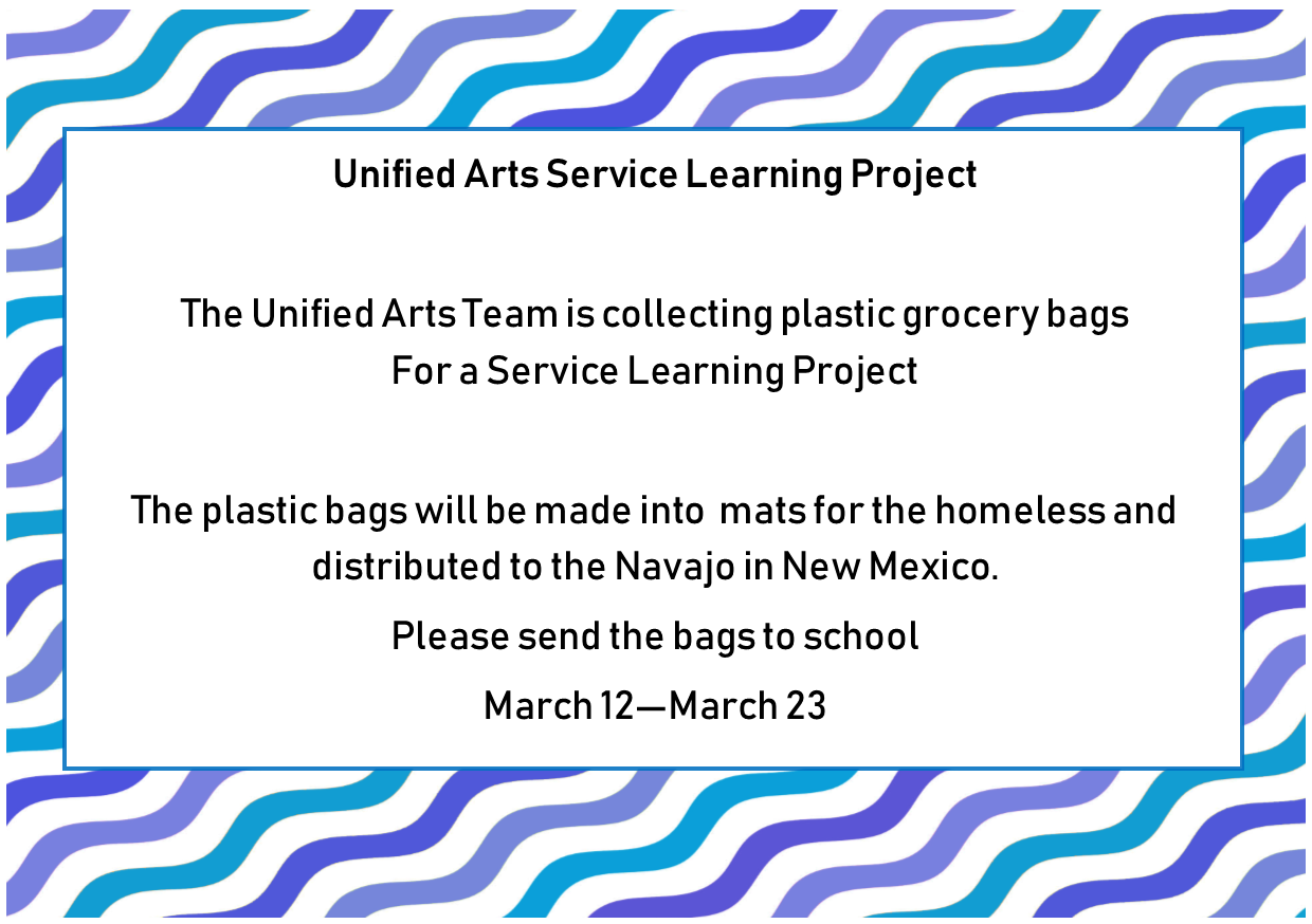 Service Learning Project for the Homeless