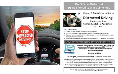 Distracted Driver Informational Meeting