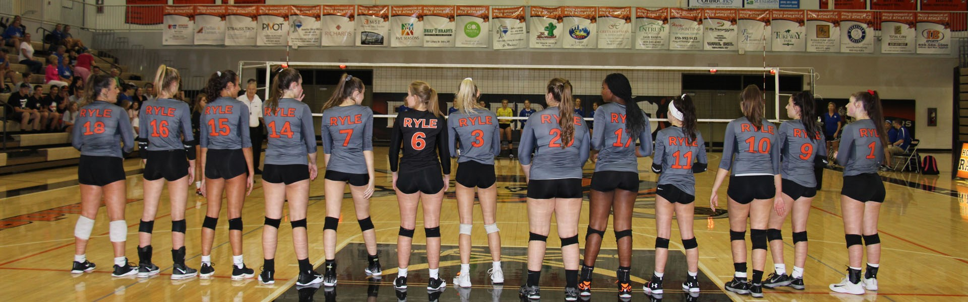 2018 Volleyball Lineup