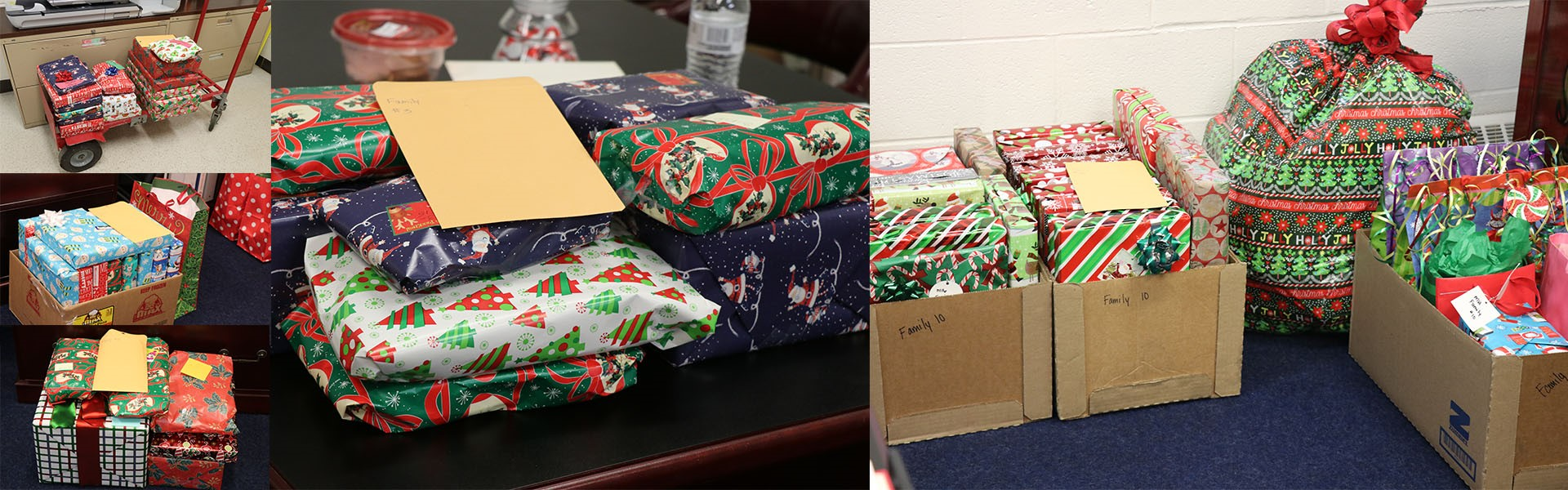CHS Adopts Families for the Holidays