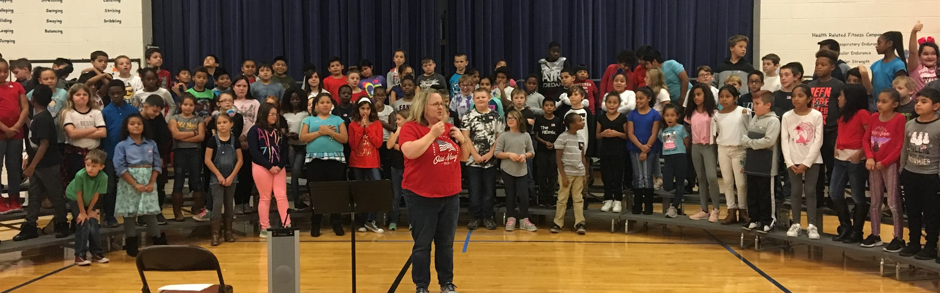 4TH GRADE VETERANS DAY PERFORMANCE