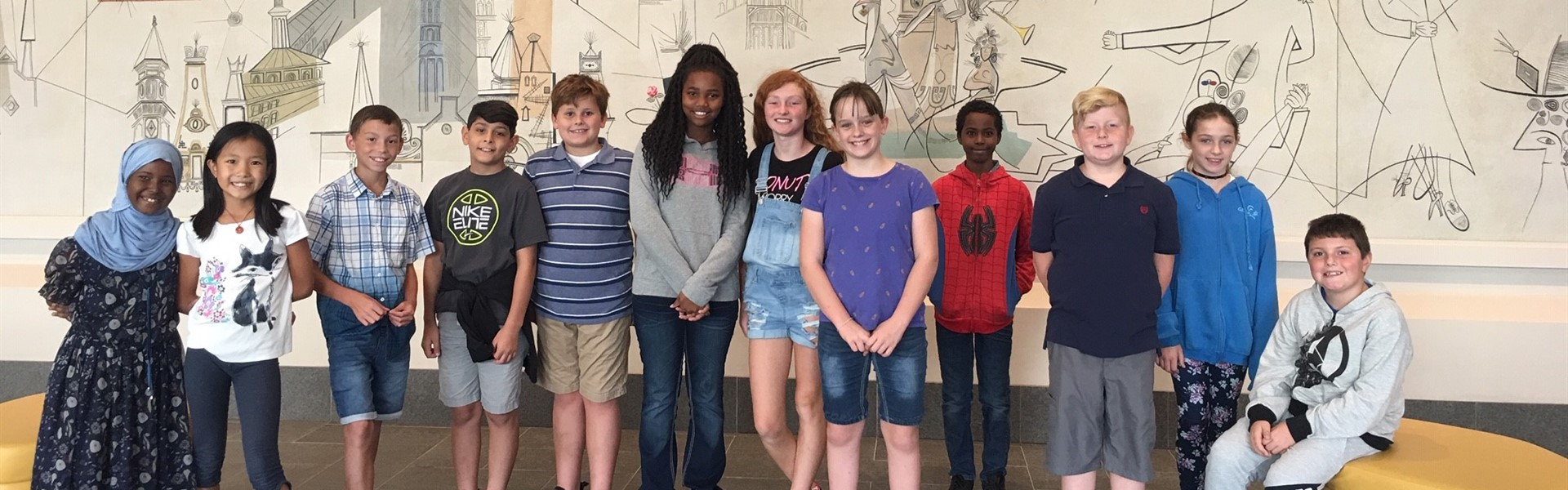 5th Grade Art Museum Field Trip