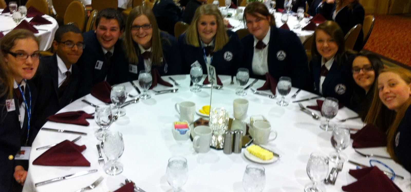 Juniors and Seniors compete at the HOSA State Leadership Conference