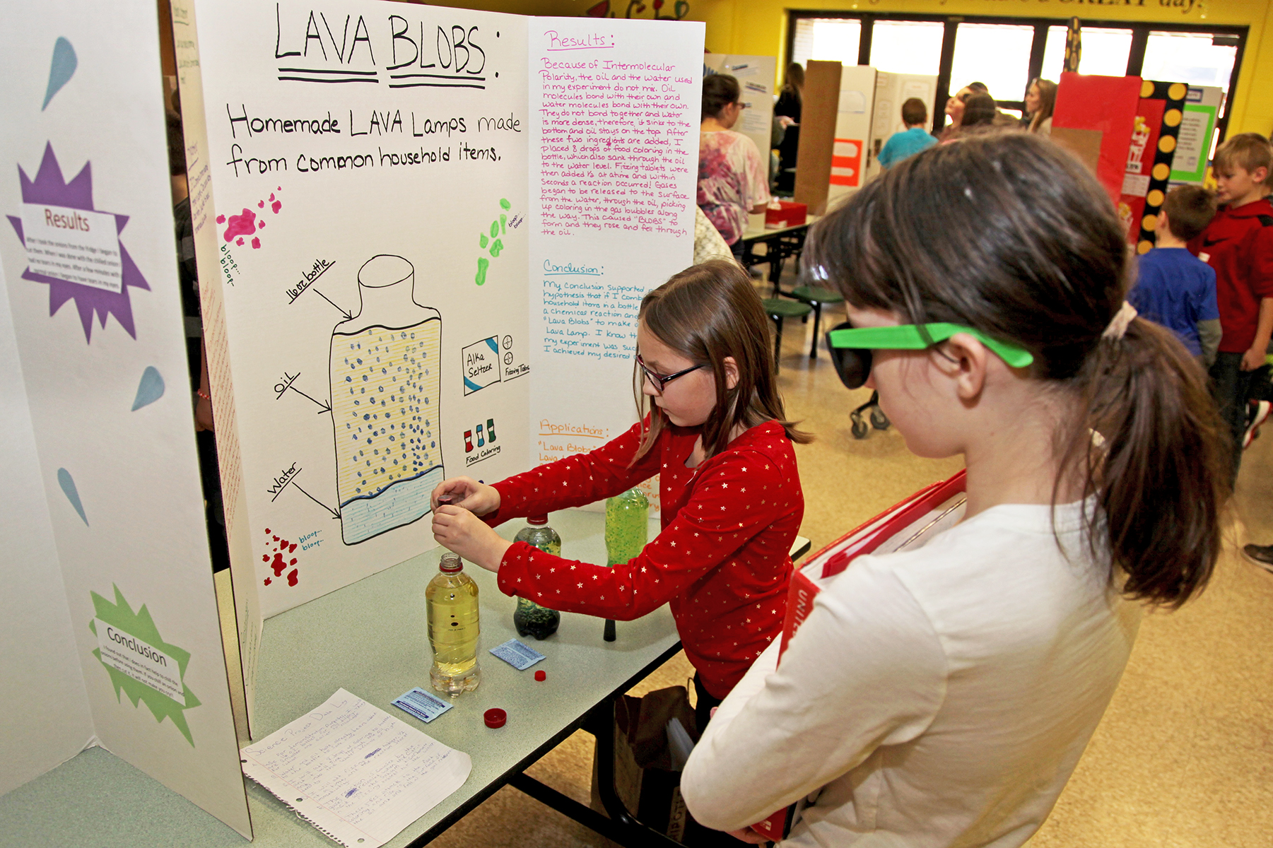 Kelly Elementary Science Fair