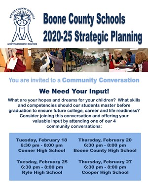 Strategic plan flyer
