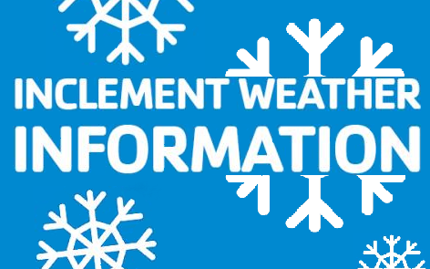 Inclement Weather Information