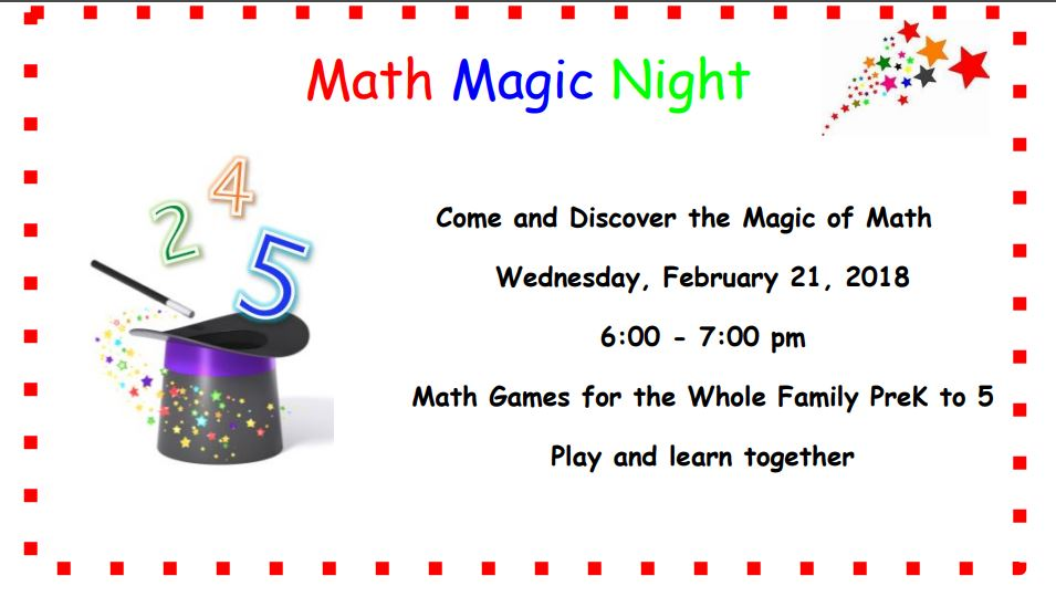 Math Magic Night