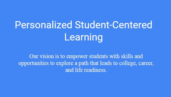 cems personalized learning vision