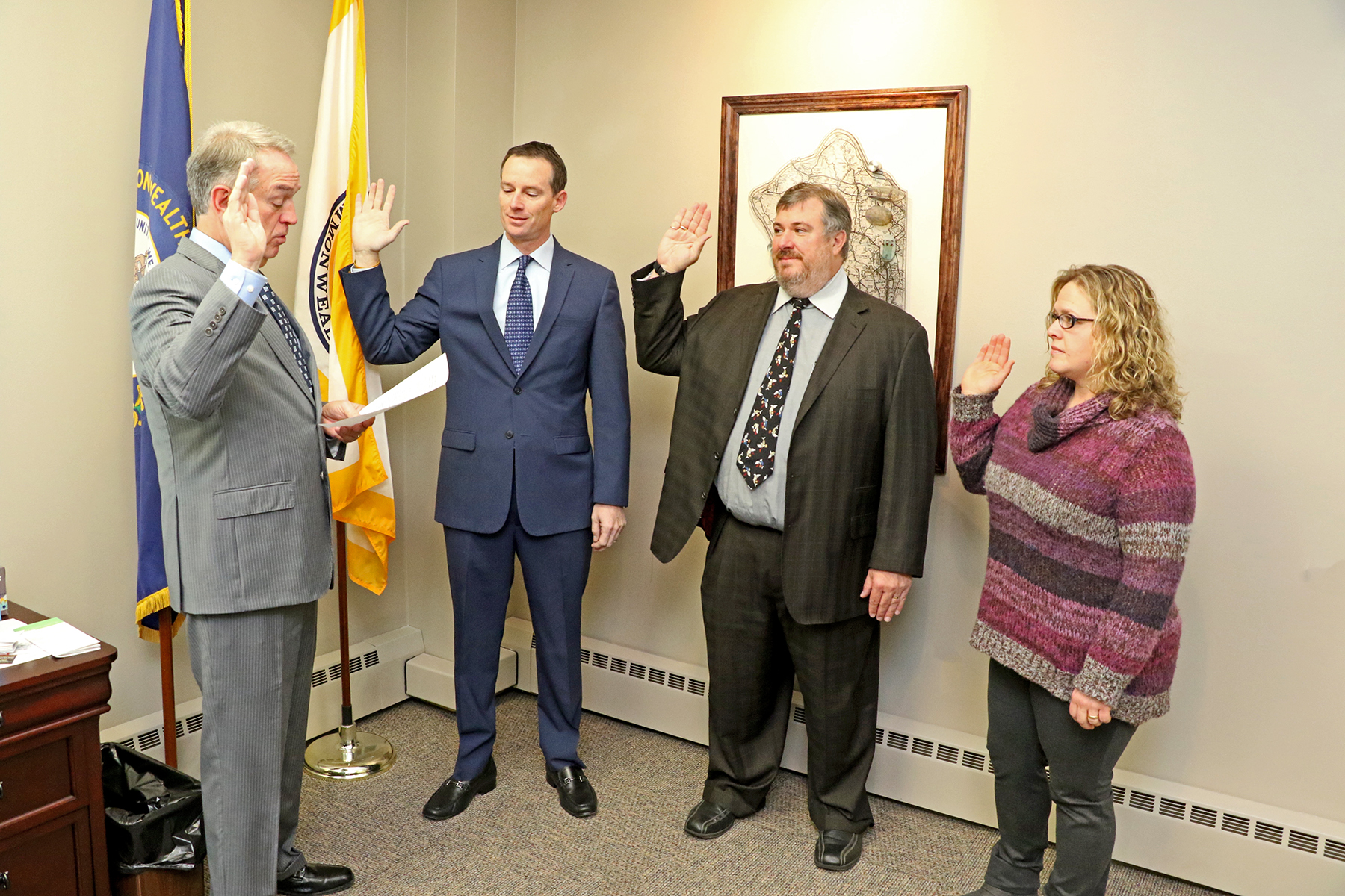 School Board swearing in