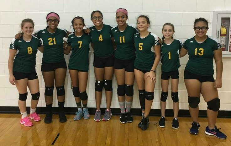 Lady Jets Volleyball Team