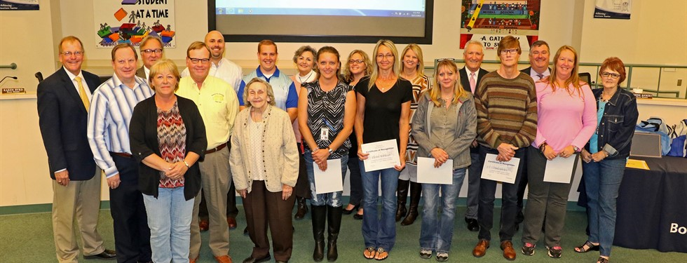 Transportation Department Honorees