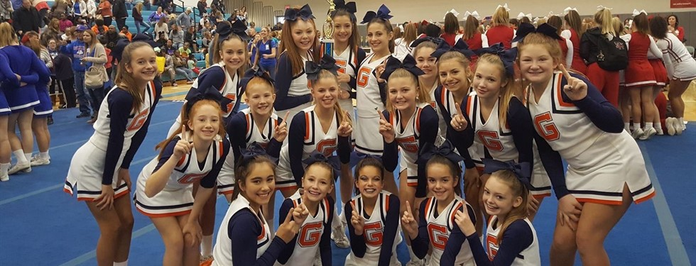 !st Place!!! Way to go Gator Cheerleaders!