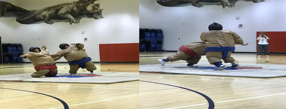 More Sumo Wrestling Fun!