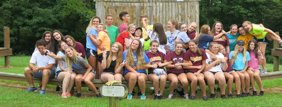 Student Leadership Council at Summer Retreat