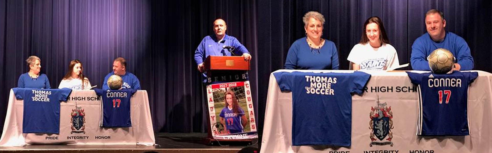 Soccer Signing