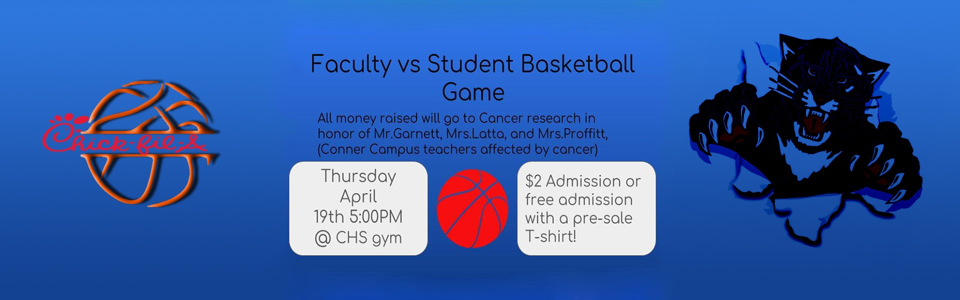 Faculty vs Student Basketball Game