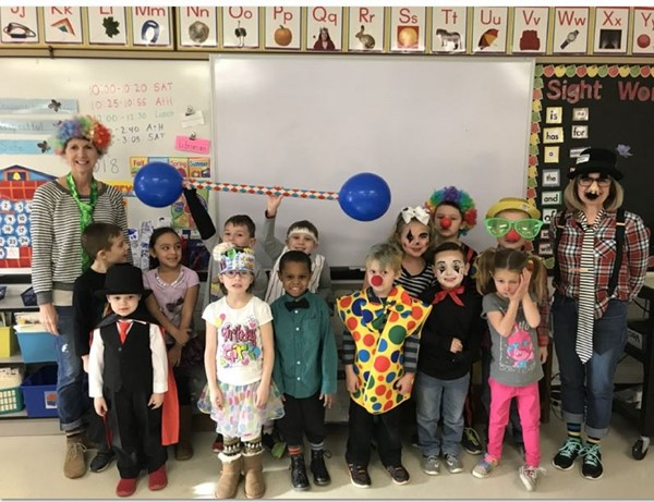 Mrs. Hallenberg's 100th Day of School Circus