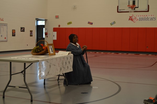 KY Chautauqua, the KY Humanities Council, and Toyota presented Elizabeth Lawson as Charlotte Dupuy in