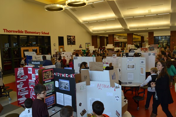 5th Grade students dressed the part and presented their craft at the 2015 TES Colonial Fair!