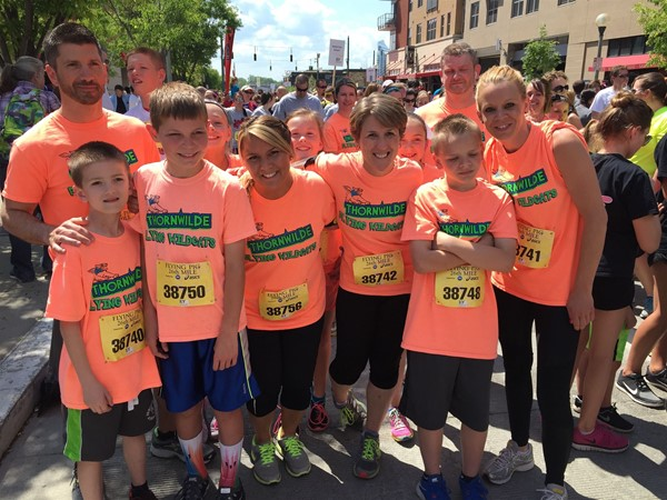 The Thornwilde Running Club ran their last mile at the Cincinnati Flying Pig for a total of 26 miles on the year!