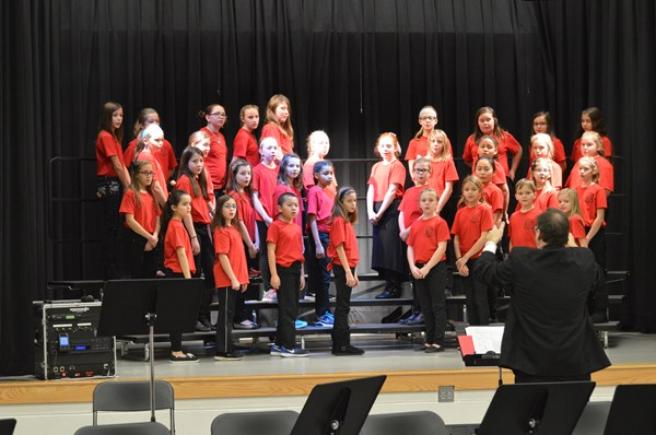 The TES Chorus and Mozart Strings performed for the student body on the Friday before Winter Break 2015!