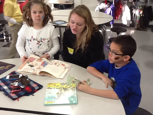Boone County High School Students read to our Collins Kids!