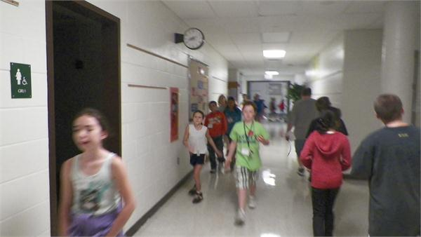 Photos taken by students during Jump Start