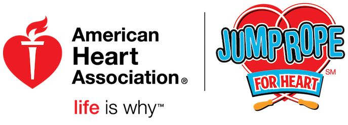 American Heart Association and Jump Rope for Heart Logo