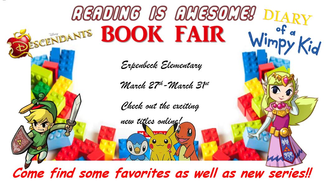 Book Fair March 27th-March 3st