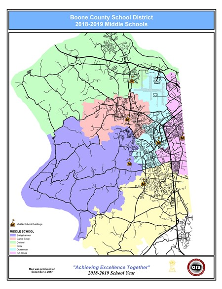 Middle Redistricting - Ballyshannon Middle on